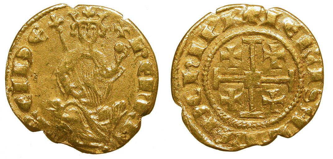 Counterfeit Cyprus Henry II Gold Coin #2