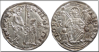 Featured Medieval Coin: ITALIAN STATES Andrea Gritti, 77th Doge Venice  1523-1539 Marcello